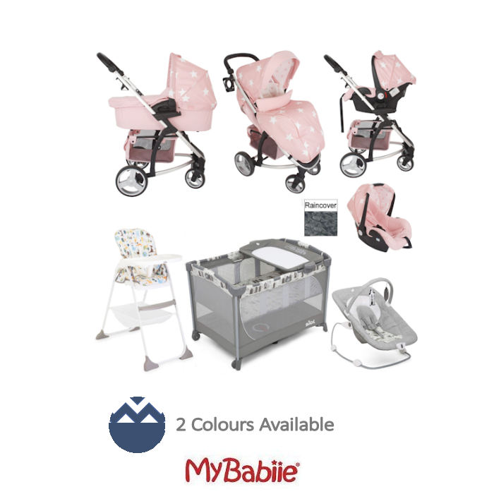 My Babiie  Joie MB200 Everything You Need Travel System Bundle