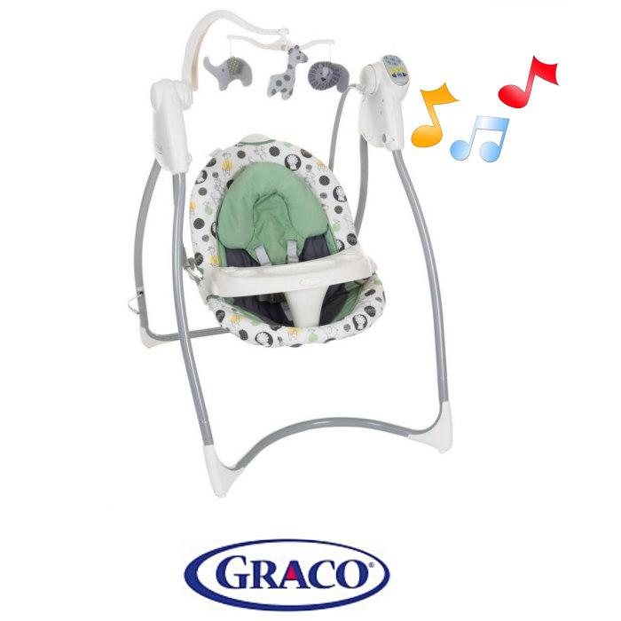Graco Lovin Hug Musical Baby Swing