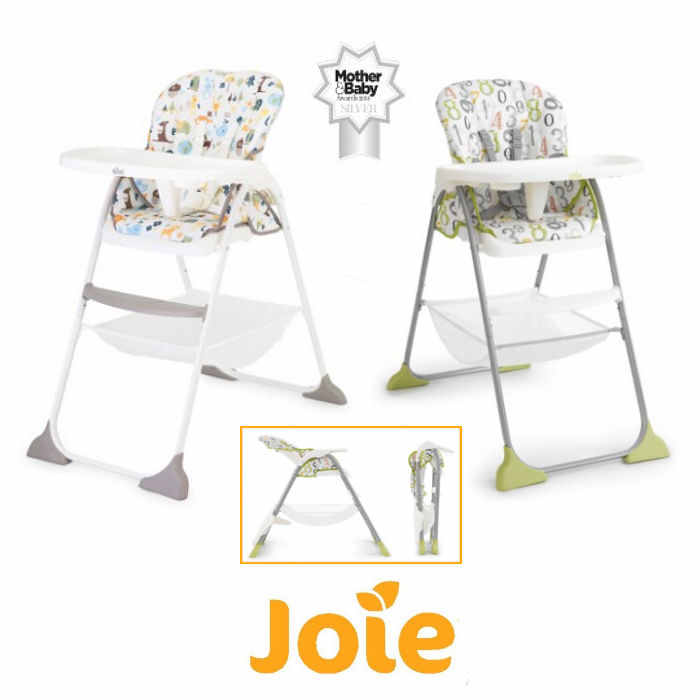 Joie Mimzy Snacker Highchair - 123 - alphabet