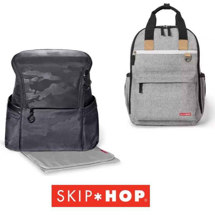 Skip Hop Duo Backpack & Paxwell Easy Access Backpack - Changing Bag