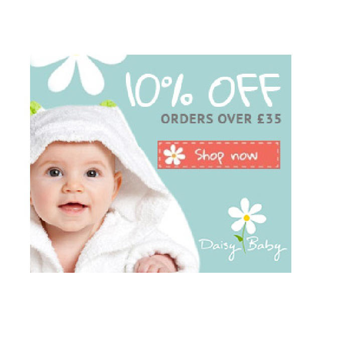 Daisy Baby- 10% Off a £35 Spend Or More