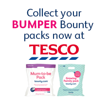 Collect your Bumper Bounty packs now at Tesco