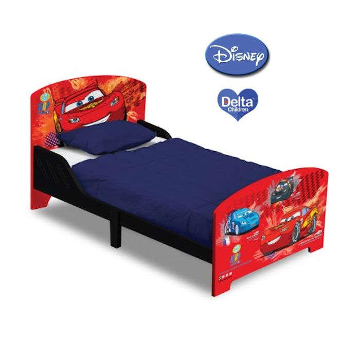 Delta Children Wooden Toddler Bed - Disney Pixar Cars