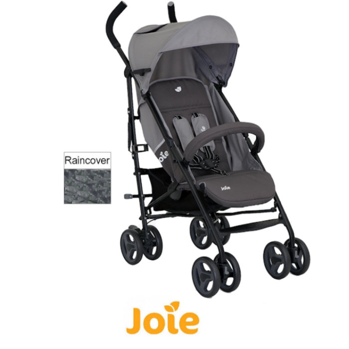Joie Nitro LX Pushchair Stroller - Grey Dark Pewter