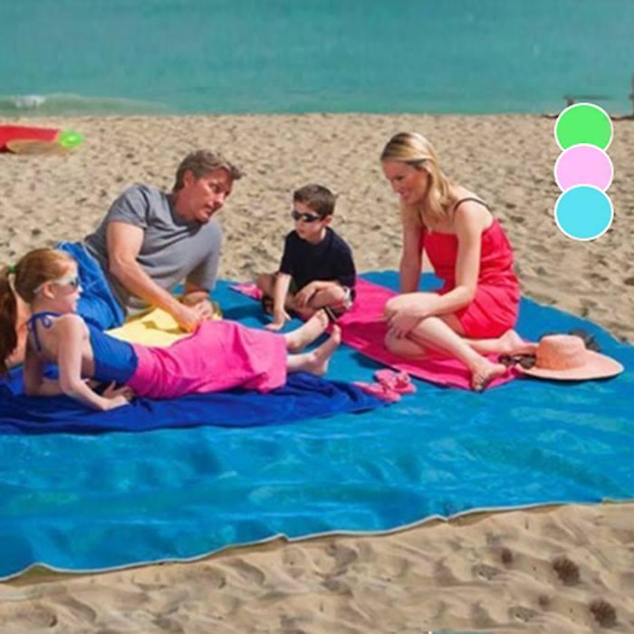 Magic Anti-Sand Beach Mat - 3 Colours & 2 Sizes