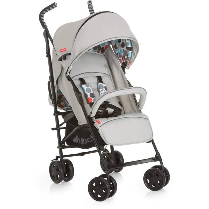 Fisher Price Easy Traveller Palmer+ Stroller (Grey)