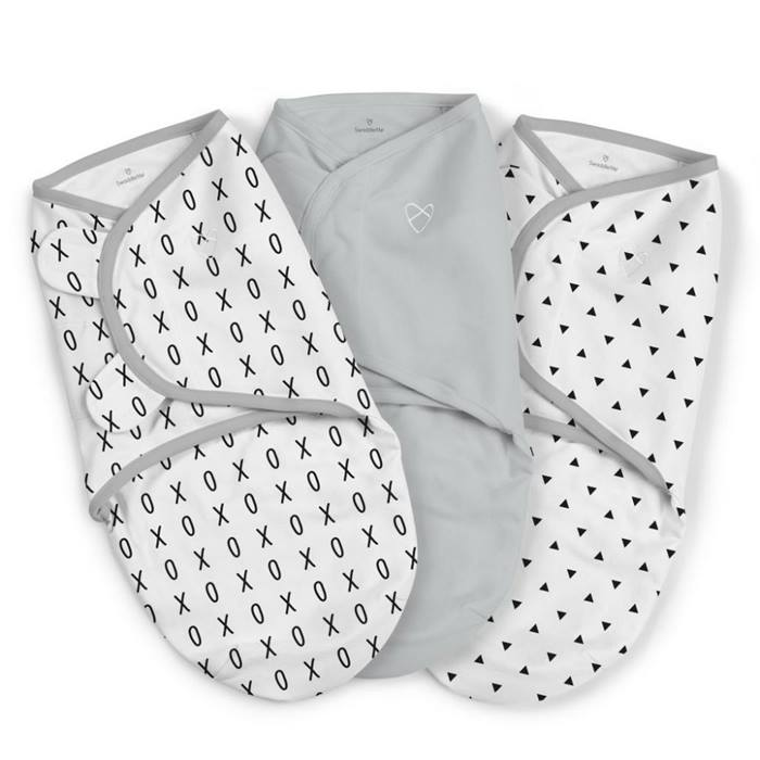Summer Infant SwaddleMe Small 3 Pack (XO)
