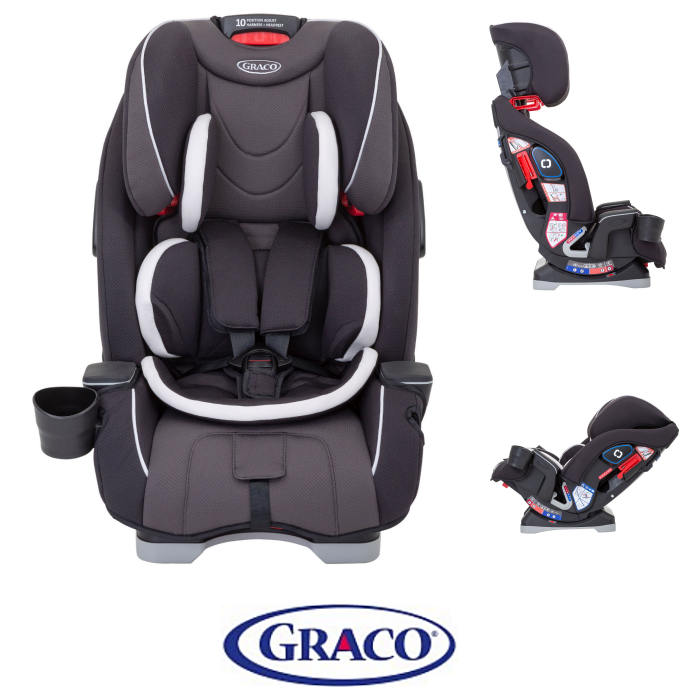 Graco Slimfit Group 0+123 Car Seat - Pearl Grey