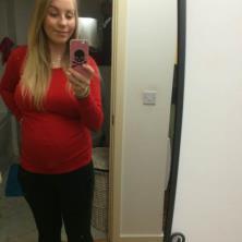 Natalia Clarges's bump