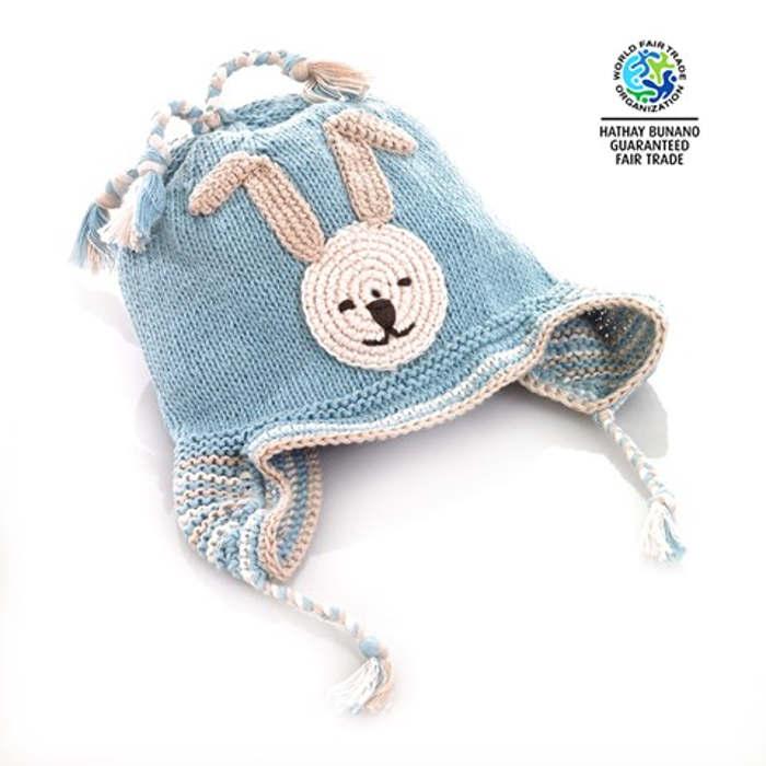 pebble blue hat