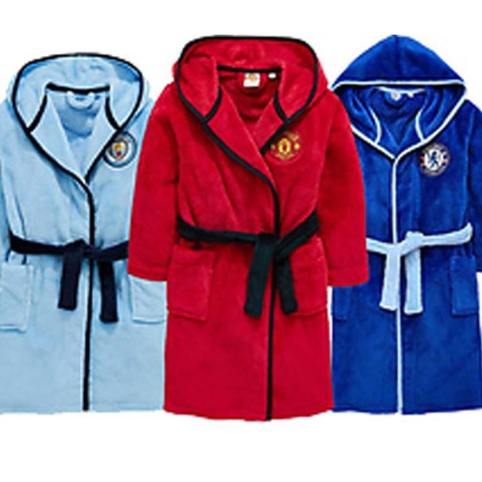 Kids Football Dressing Gowns