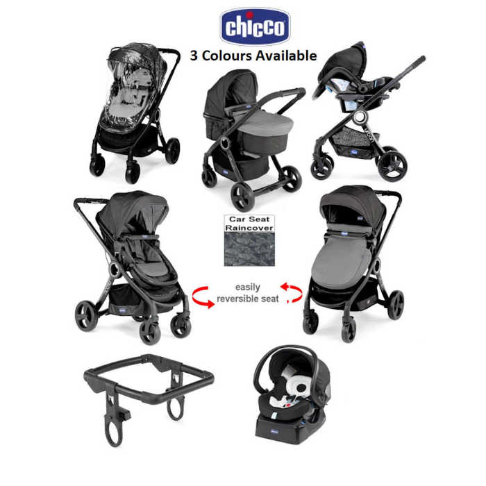chicco urban plus travel system - anthracite