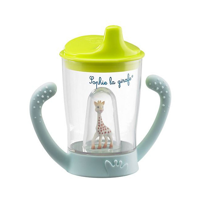 Sophie Giraffe non-spill cup