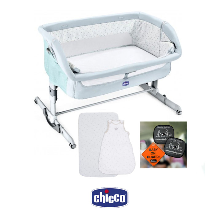 Chicco Next 2 Me Dream Side Sleeping Crib With Accessories
