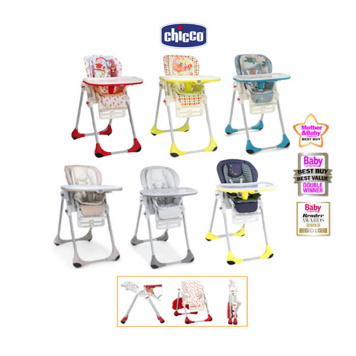 Chicco Polly 2 in 1 Baby Highchair large