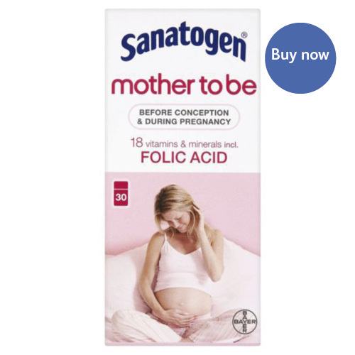 Vitamins and Supplements Sanatogen Folic Acid