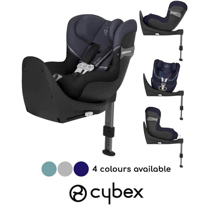 Cybex Sirona S i-Size 360 Spin ISOFIX Car Seat (inc Base) With Sensorsafe