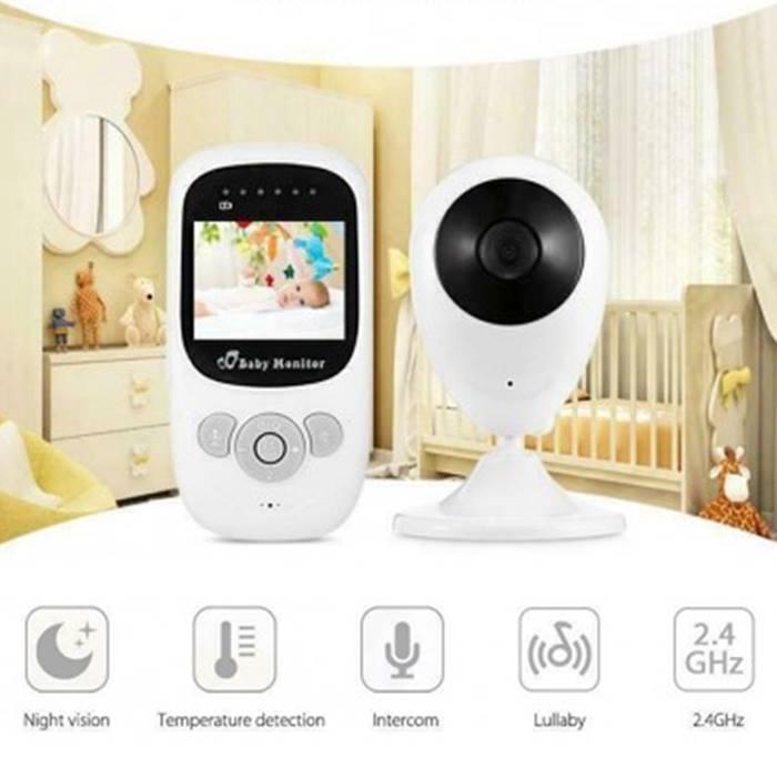 Wireless HD night vision baby monitor