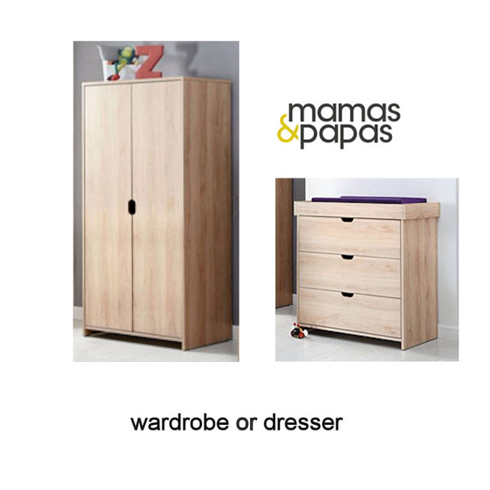 mamas  papas wardrobe and dresser ottopspimage new 1