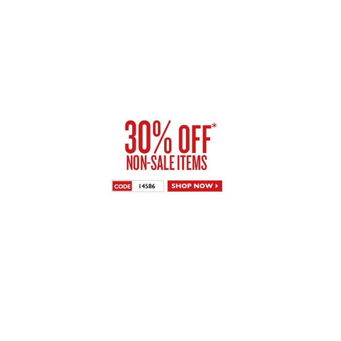 30% Off Non Sale Items