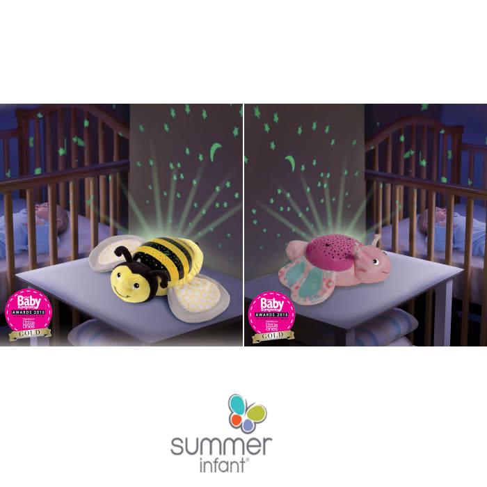 Summer Infant Deluxe Slumber Buddies Nightlight Projector