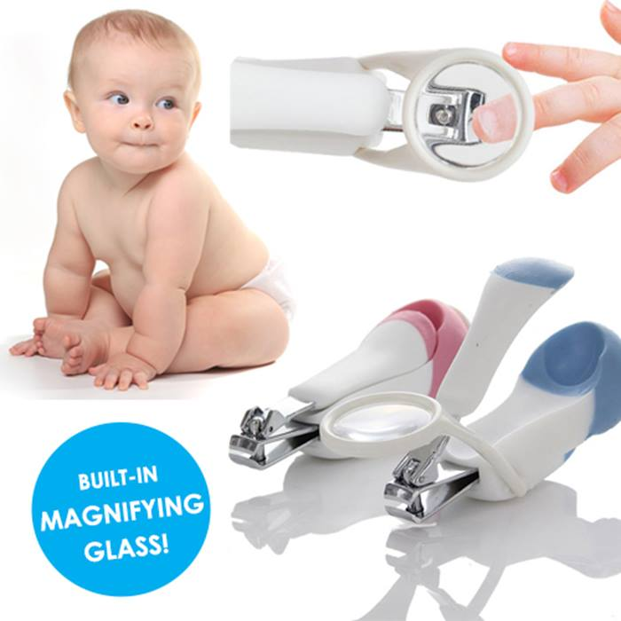 Baby Nail Clippers with Magnifying Glass - 1 or 2