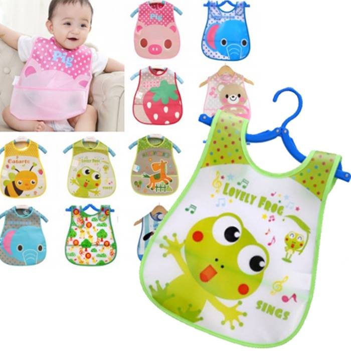 Waterproof Cartoon Feeding Apron - 16 Styles!