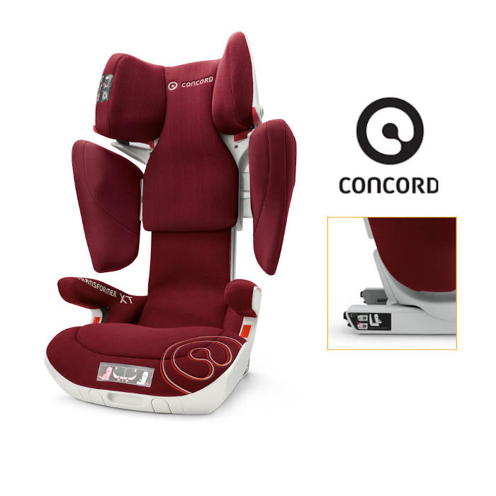 Concord Transformer XT Group 2-3 IsoFIx Car Seat
