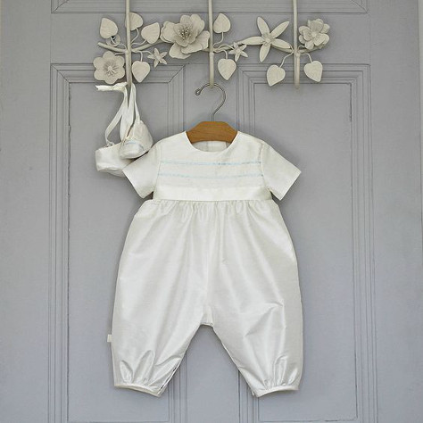 Romper suit for a boy