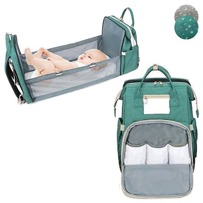 Multifunctional 2-in-1 Diaper Changing Backpack - 2 Colours