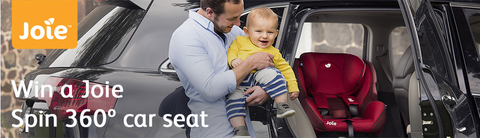 Win a Joie Spin Spin 360º car seat