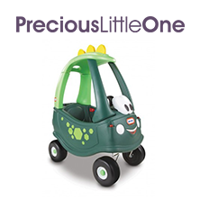 WIN one of three Little Tikes Cozy Coupe (Dino)