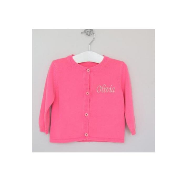 Pink-Cardigan