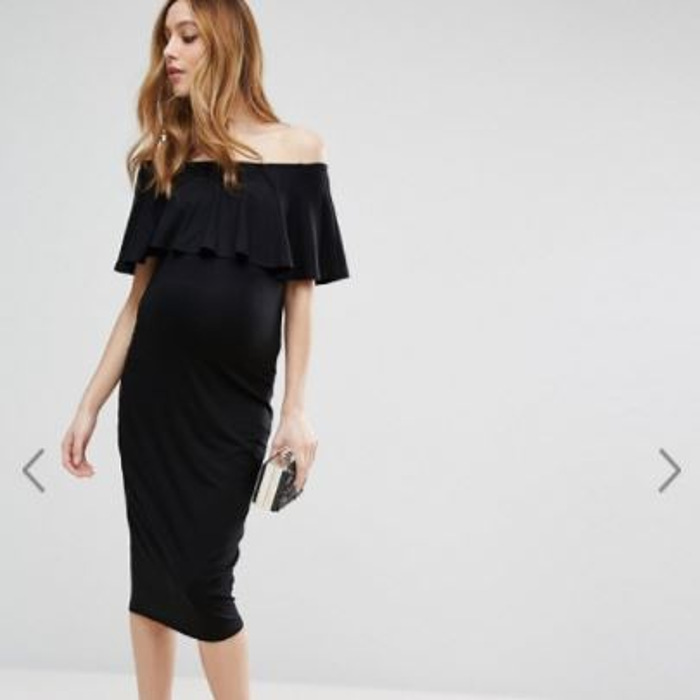 ASOS maternity party dress