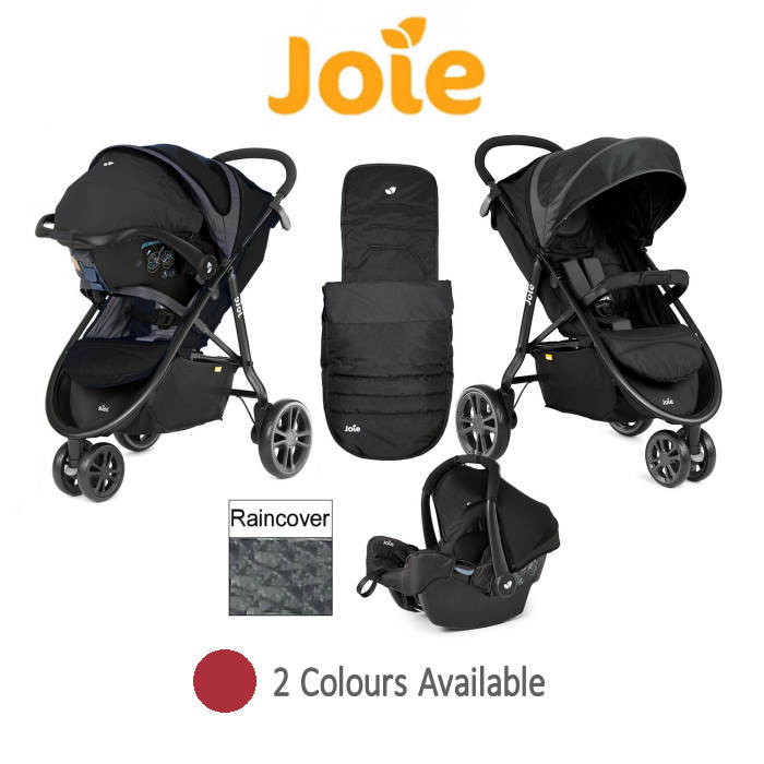 Joie Litetrax 3 Wheel Travel System