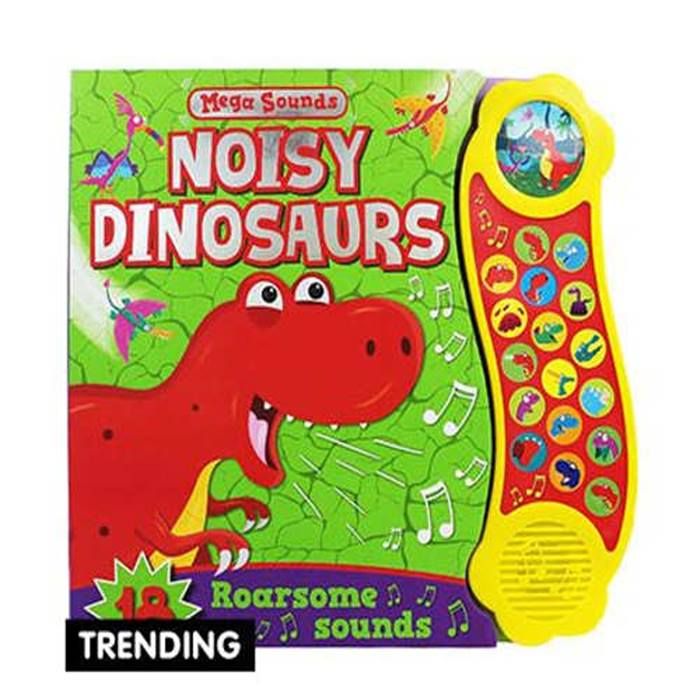 TheWorks-NoisyDinosaur-book
