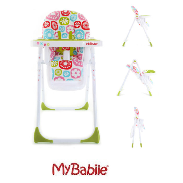 My Babiie MBHC8 Highchair Floral