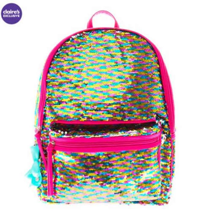 Claires - backpack- sequin
