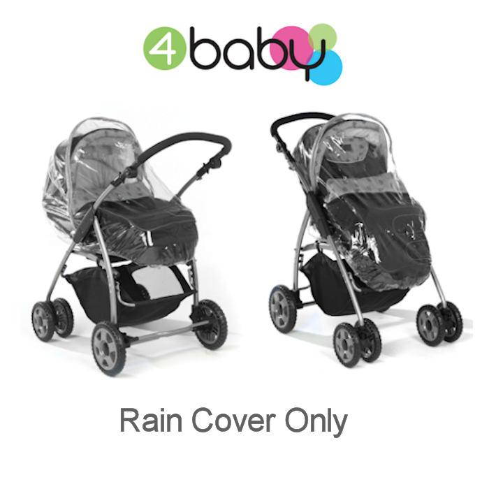 4Baby Universal Zipped Carrycot Pram Raincover