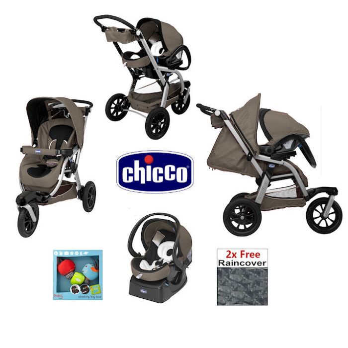 Chicco Activ3 Travel System - Bounty