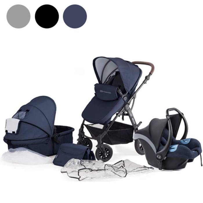 Kinderkraft 3-in-1 Moov Stroller - 3 Colours