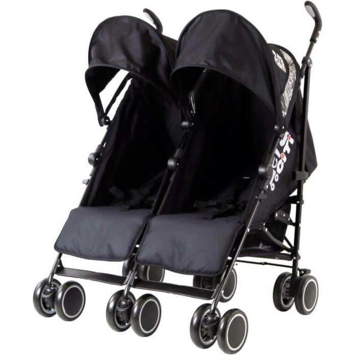 Zeta CiTi Twin Stroller (Black)