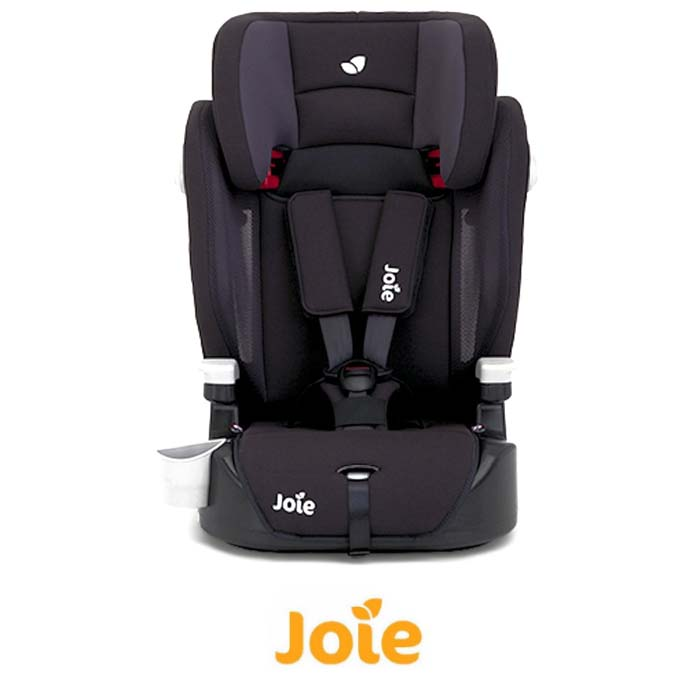 Joie Elevate Group 123 Deluxe Padded High Back Booster Car Seat