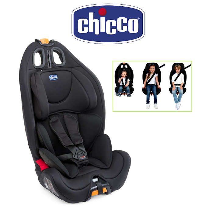 Chicco Gro-Up Group 123 Car Seat - Black