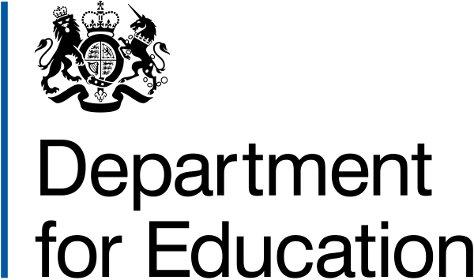 Department for Education logo 474