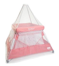 BabyHub sleep space travel cot