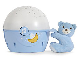Chicco next to stars nightlight