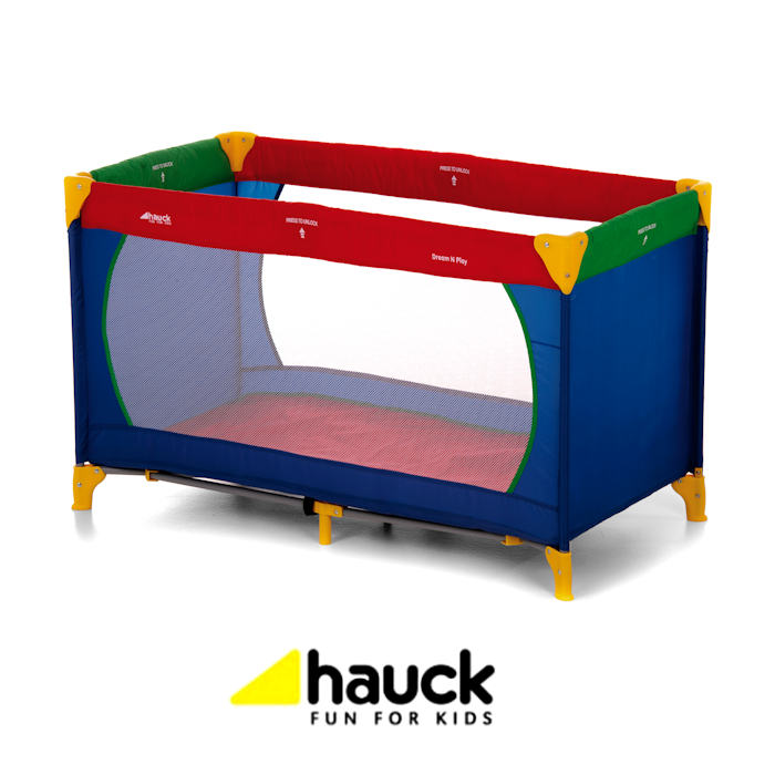 Hauck Dream n Play Travel Cot  Baby Playpen - Multicolour