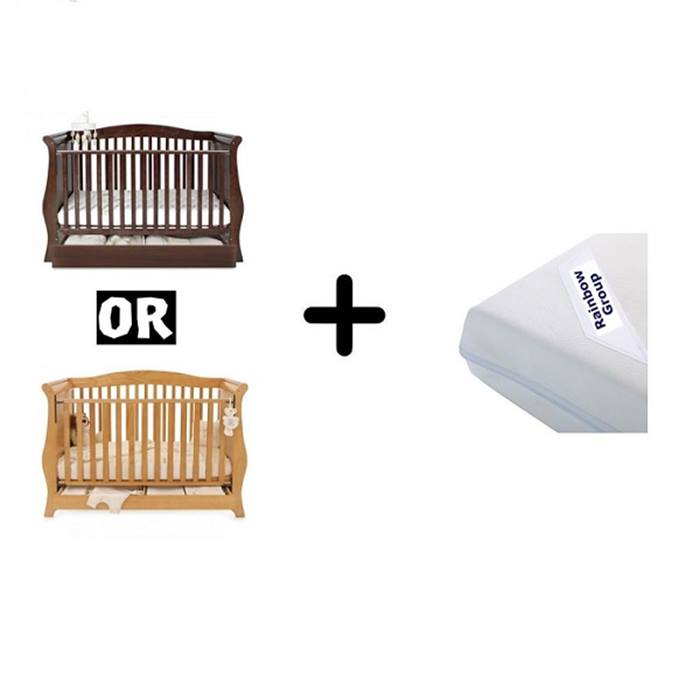 Hollie Sleigh Cot Beds