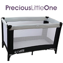 Precious Little Ones - iSafe Rest & Play Travel Cot